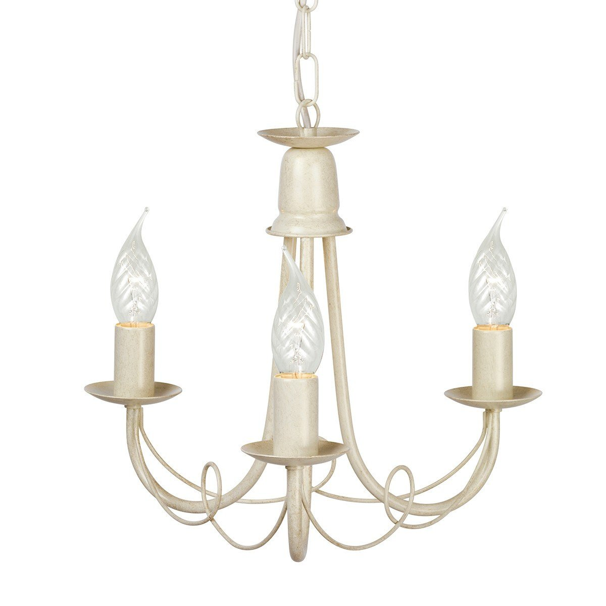 Minster 3 Arm Chandelier - London Lighting - 3