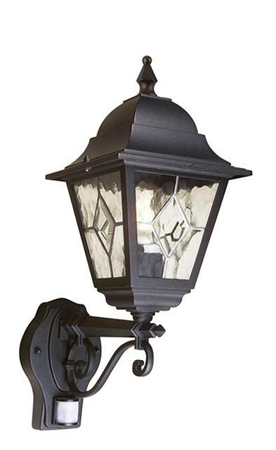 Norfolk Up Wall Lantern  with PIR - London Lighting - 1