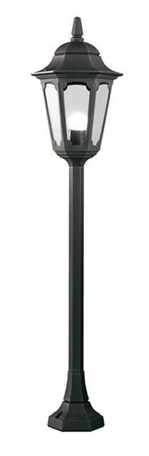 Parish Pillar Lantern Black H104cm - London Lighting - 1