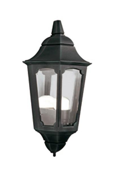 Parish Half Lantern Black - London Lighting - 1
