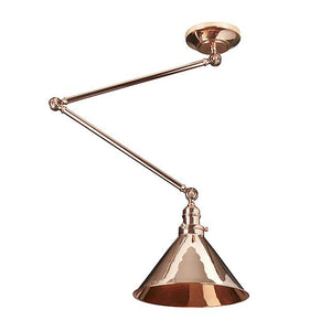 Grenoble Polished Copper Wall Light/Pendant - ID 7898