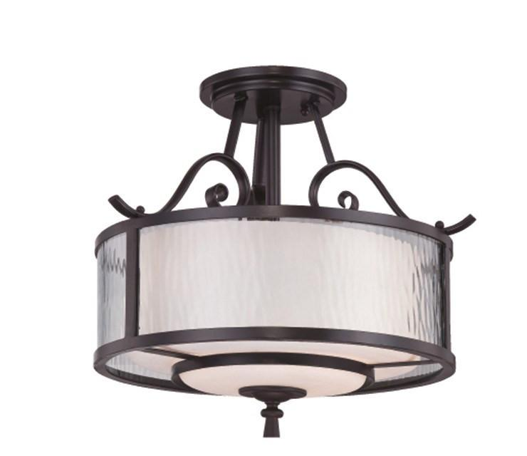 Adonis Semi-Flush Light - London Lighting - 1