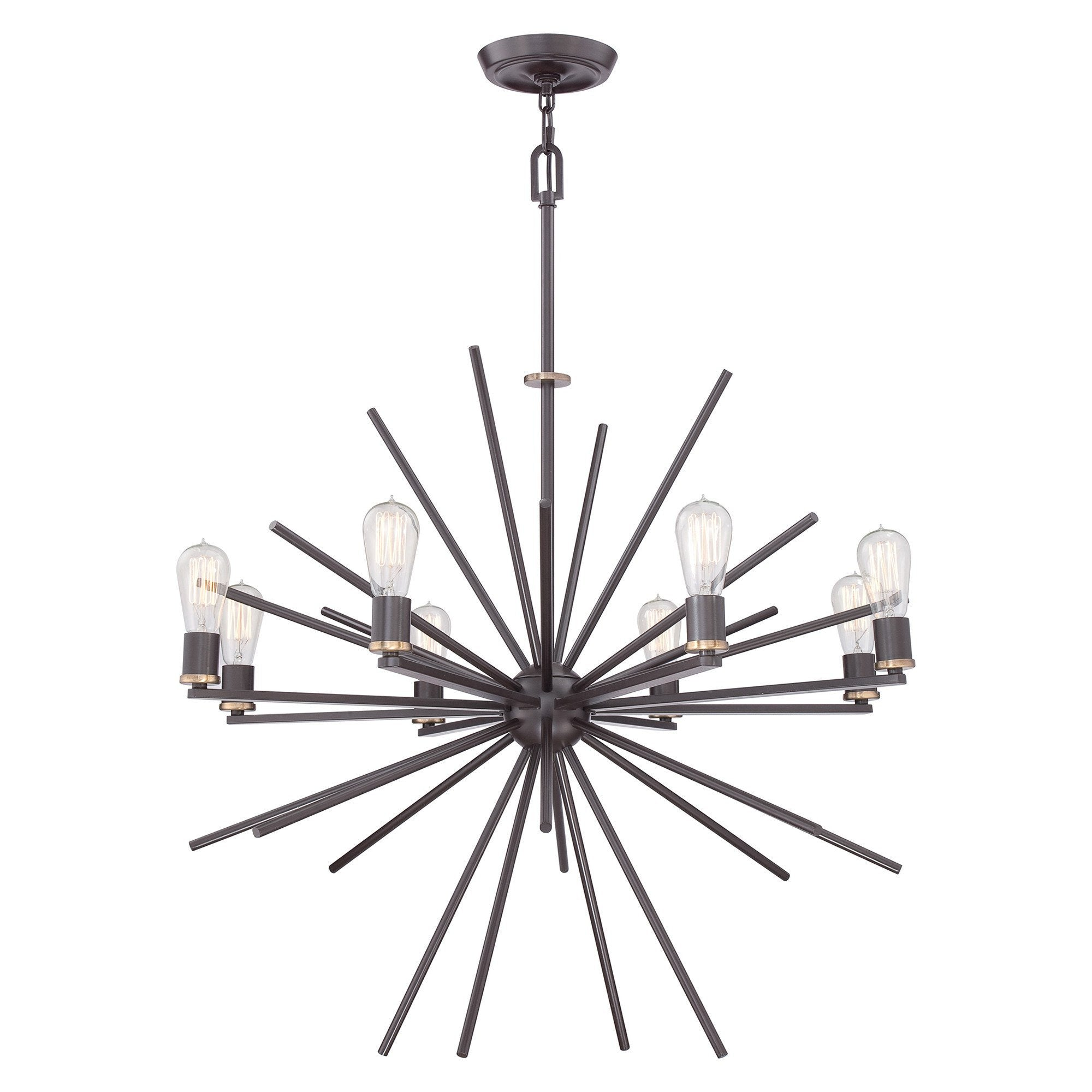 Quoizel Carnegie 8 Light Chandelier - London Lighting - 1
