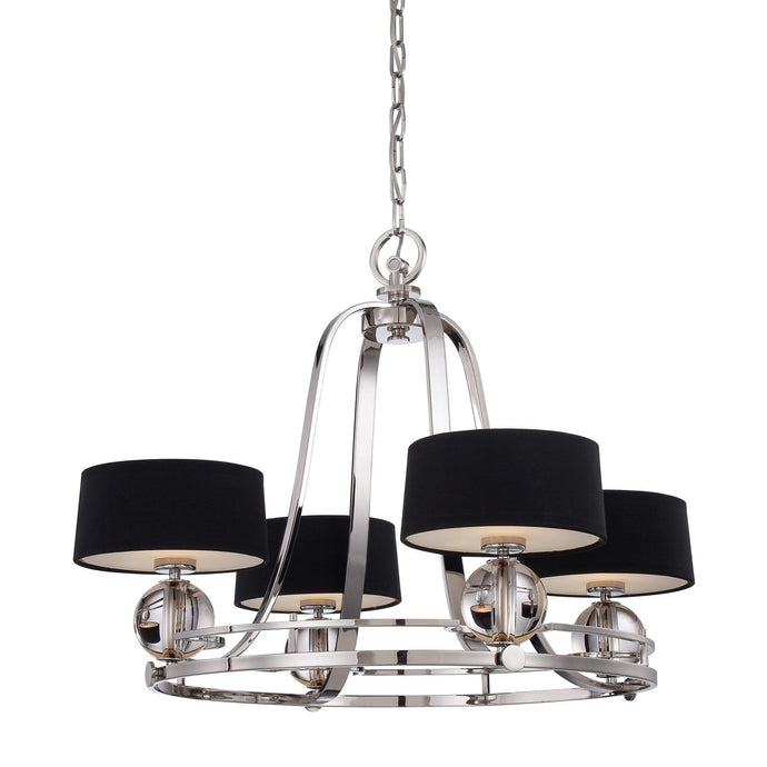 Quoizel Gotham 4 Light Chandelier - London Lighting - 1