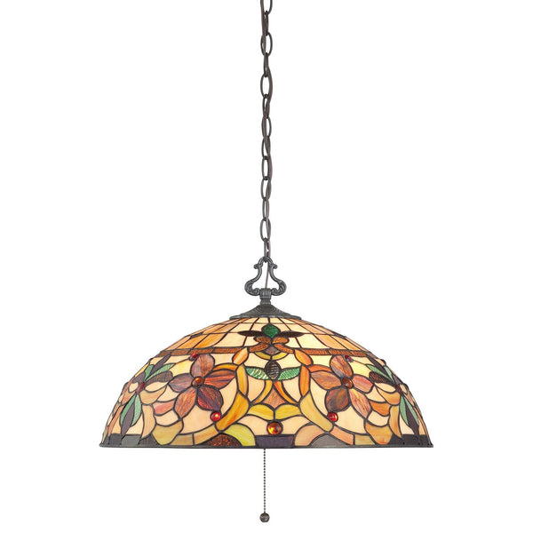 Quoizel Kami 3 Light Pendant Light - London Lighting - 1