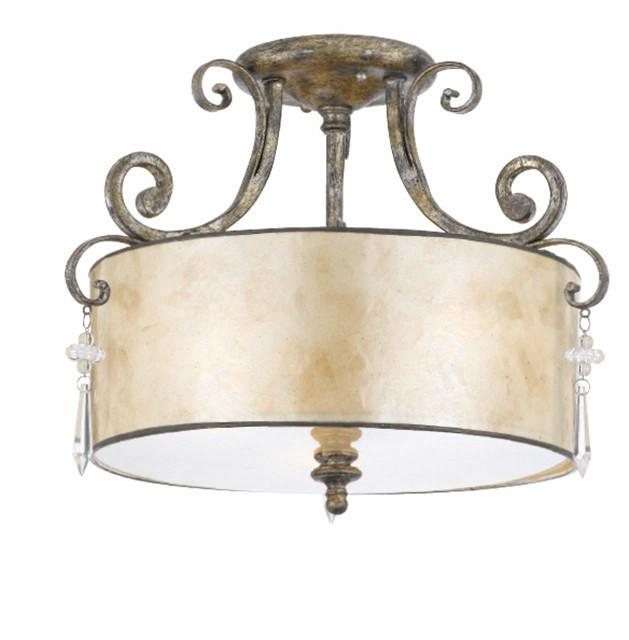 Kendra Semi-Flush Light - London Lighting - 1