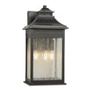 Three Light Imperial Bronze Large Wall Lantern