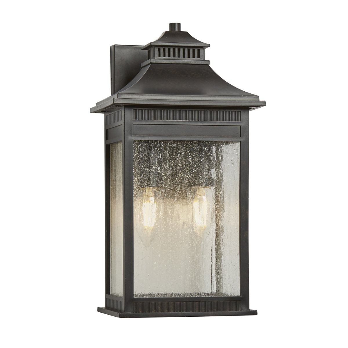 Livingston Two Light Imperial Bronze Medium Wall Lantern