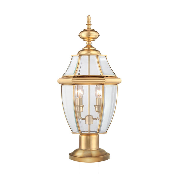 Quoizel Newbury Pedestal - London Lighting - 1