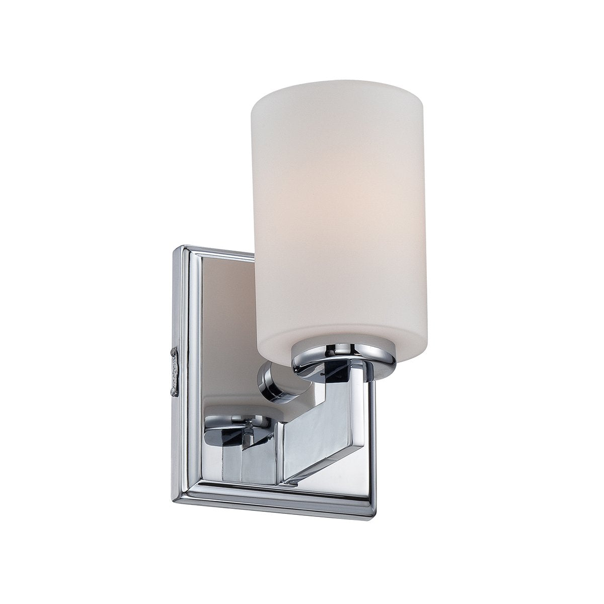 Taylor One Light Polished Chrome Small Wall Light