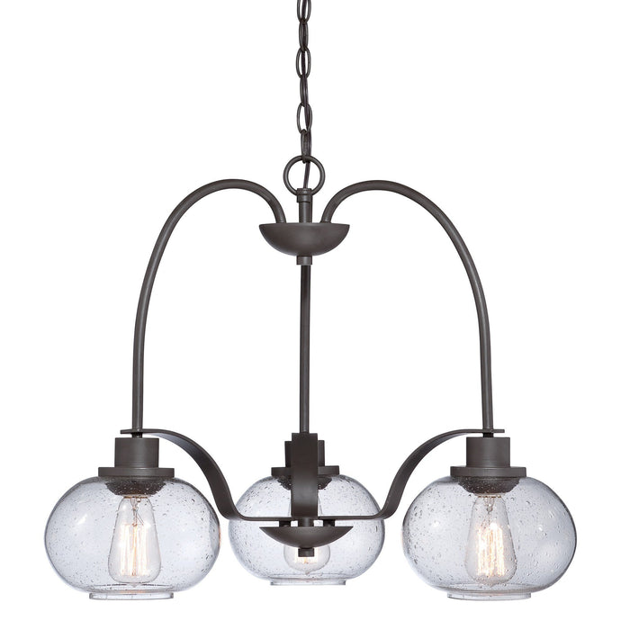 Quoizel Trilogy 3 Light Chandelier - London Lighting - 1