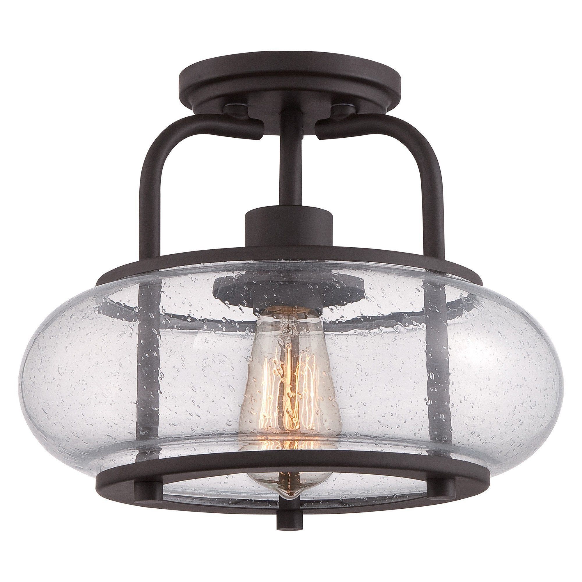 Quoizel Trilogy Small Semi-Flush - London Lighting - 1