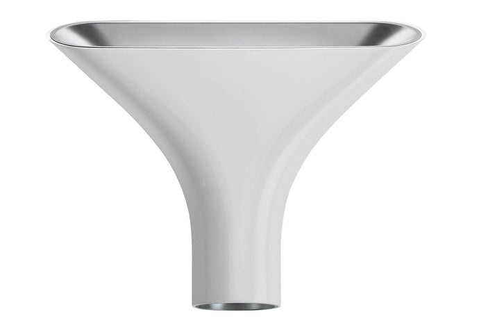 FLOS Tau Wall Light - White & Silver