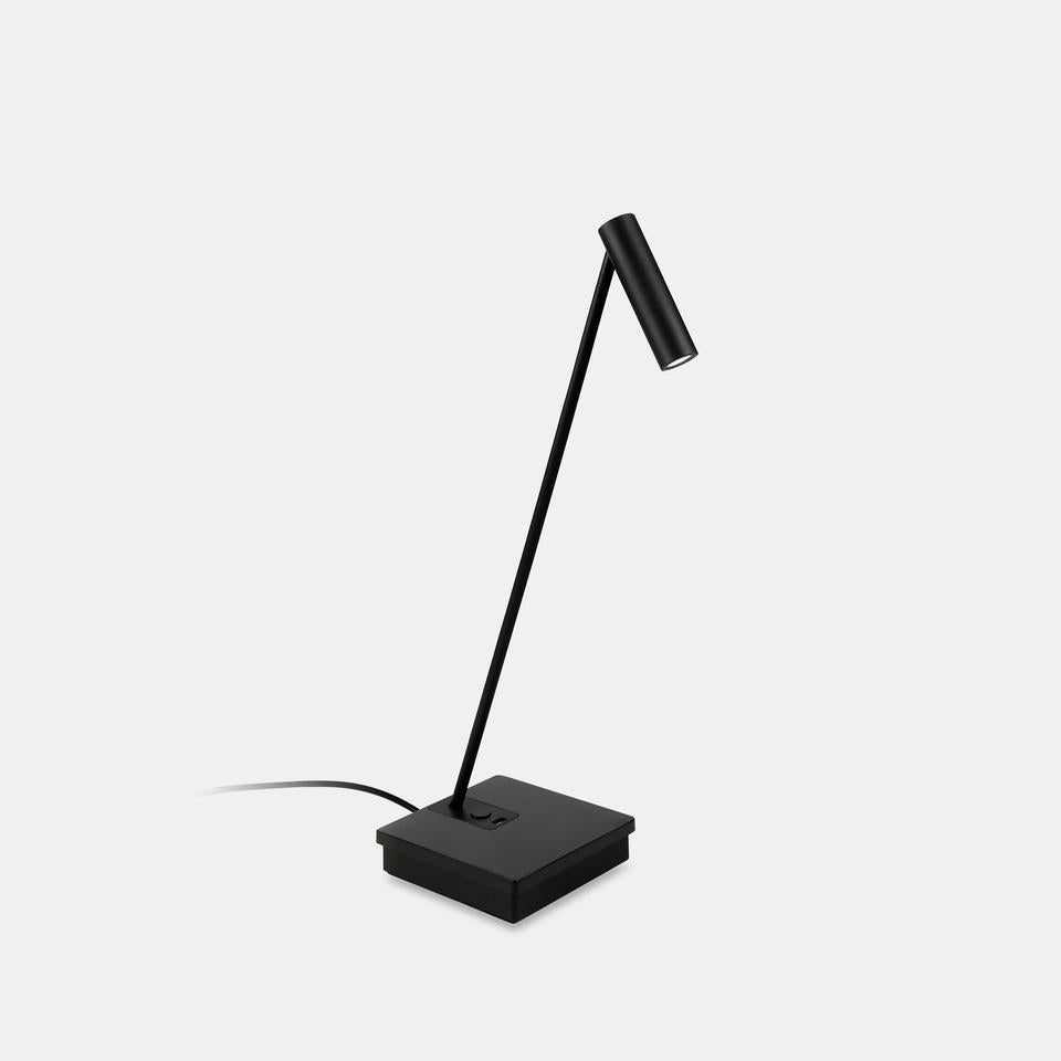 ELA Black Elegant Directional Table Light With Wireless Device Charge - ID 10746