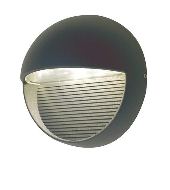 Lutec Radius SP R Outdoor Wall Light - London Lighting - 1