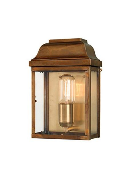 Victoria Wall Lantern Brass - London Lighting - 1