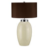 Vauxhall Large Cream Table Lamp c/w Shade - ID 8460