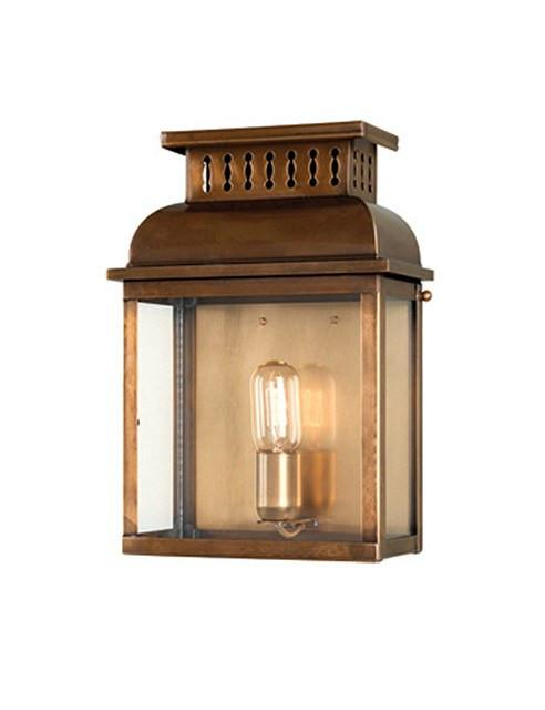 Westminster Wall Lantern Brass - London Lighting - 1