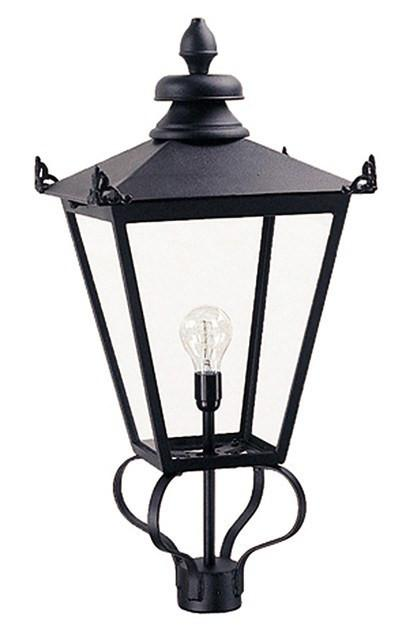 Wilmslow Head Only Black - London Lighting - 1