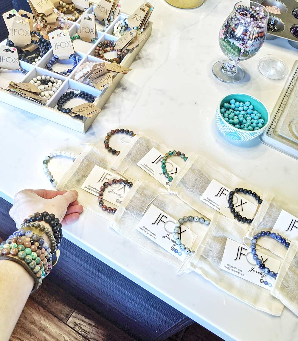 JFOX Jewelry parties and events - take home gifts