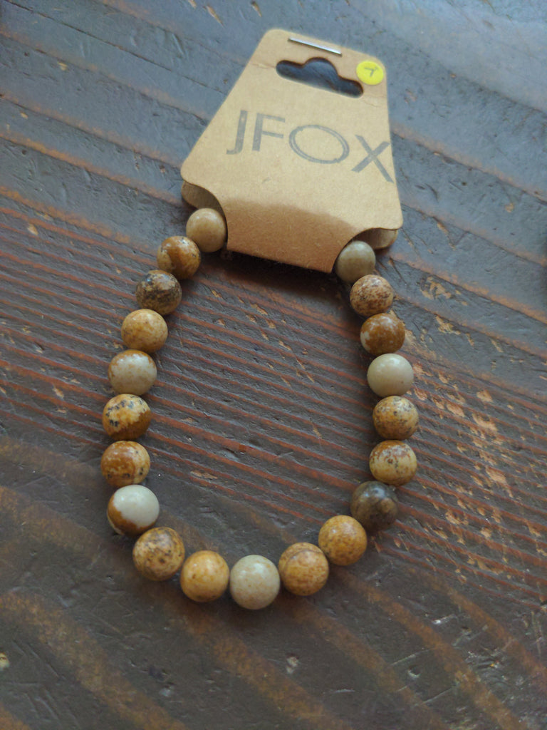 Picture Jasper Bracelets (Various Colors Available)