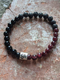6mm Zodiac Sign Gemstone Diffuser Bracelets (All signs available)