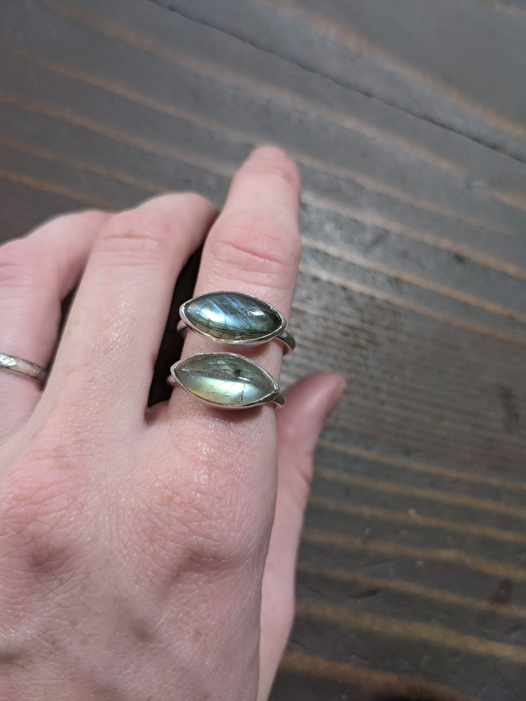 Labradorite Marquise Cut Ring- MTO Various Sizes Available