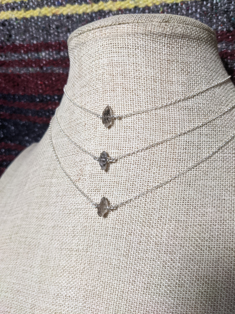 Herkimer Diamond on Sterling Silver