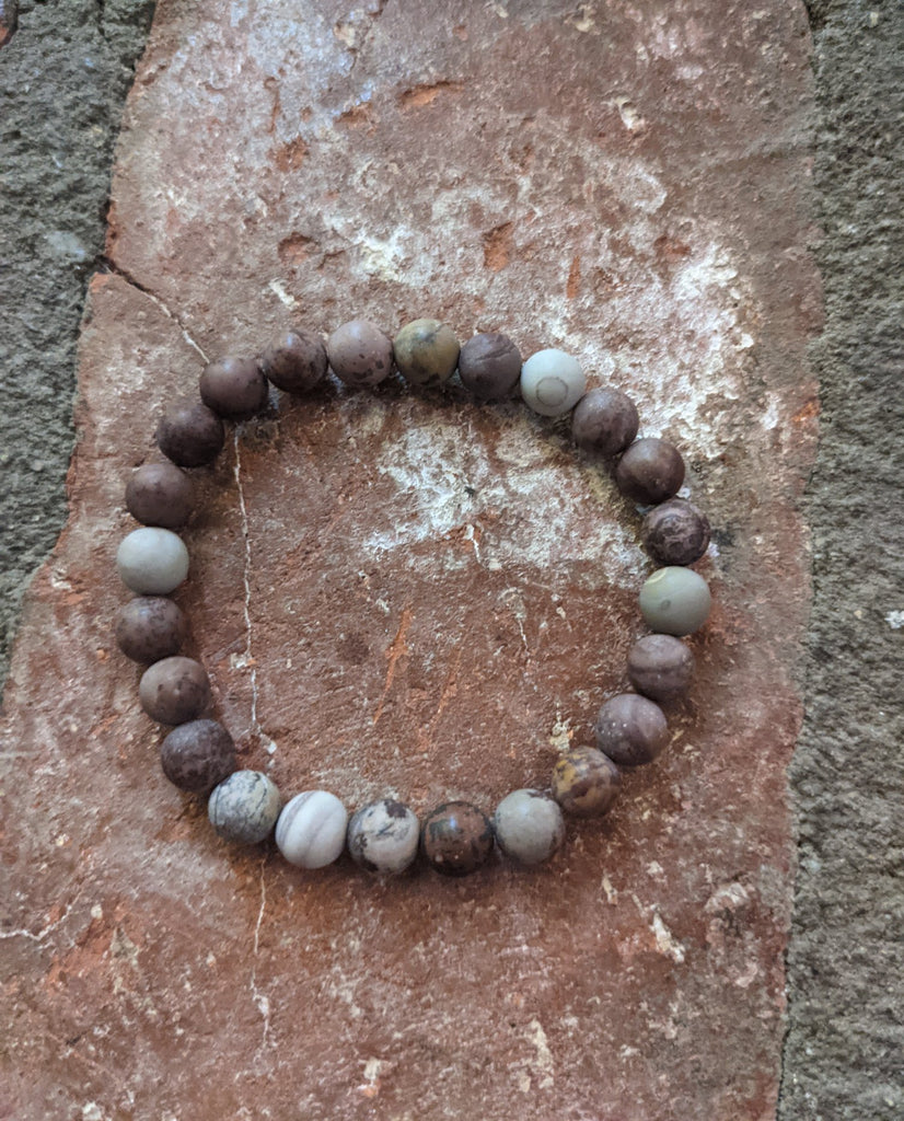 Artistic Jasper Bracelet (Various Sizes Available)