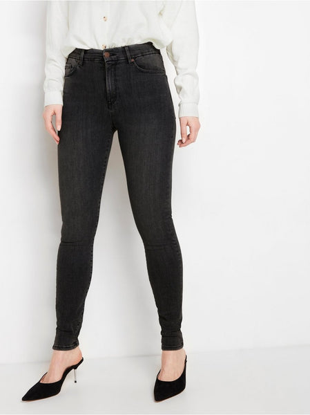 CLARA Curve super stretch jeans med high waist