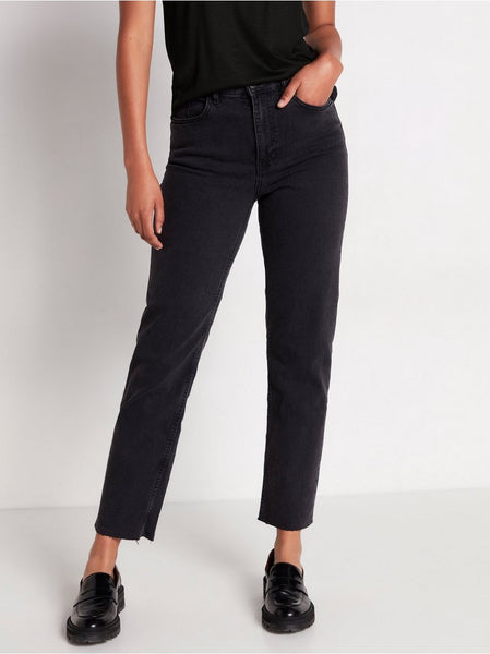 NEA cropped straight jeans