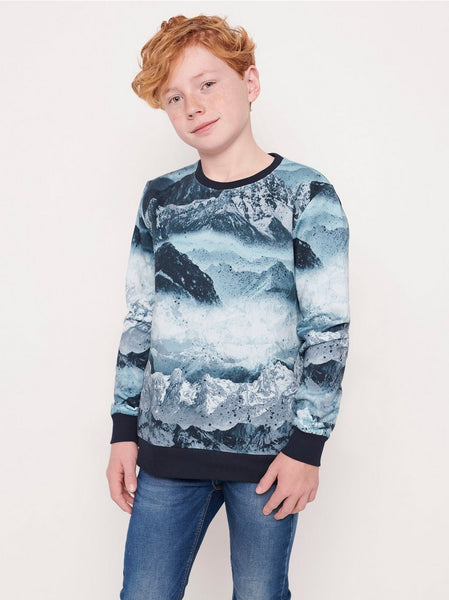 Sweater med photo print