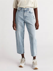 PENNY high waist jeans med tapered leg