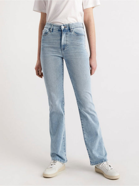 MIRA curve super stretch flared jeans
