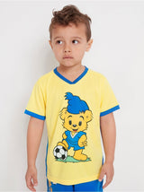 Sports t-shirt med Bamse