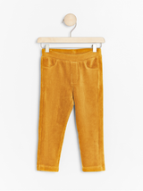 Gule corduroy leggings
