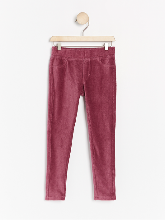 Corduroy leggings