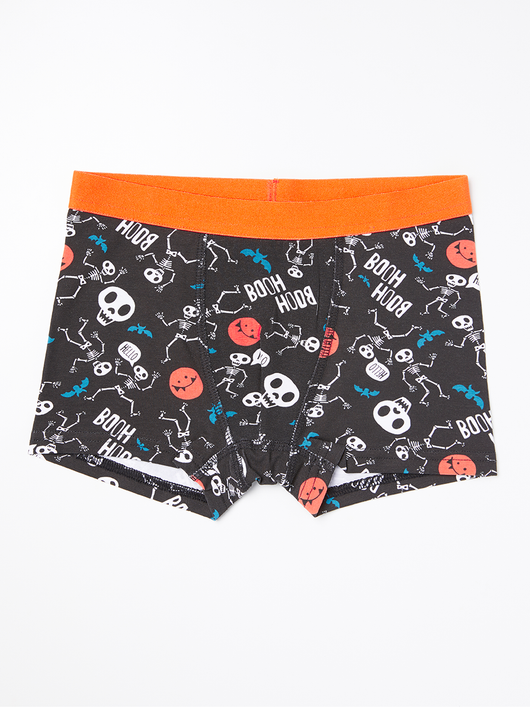 Boxer shorts med glow in the dark print