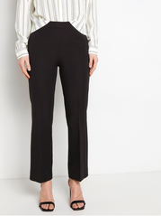 High waist bukser med cropped leg