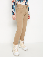 NEA Beige straight high waist jeans
