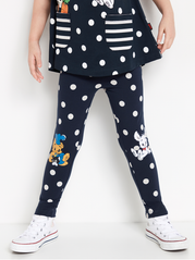 Leggings med Bamse print