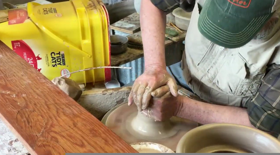 Making Lidded Jars on the Wheel