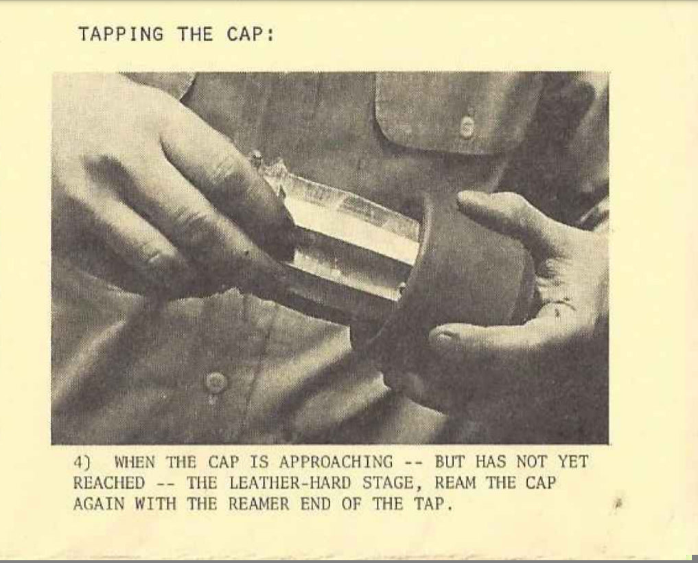 Tapping the Cap