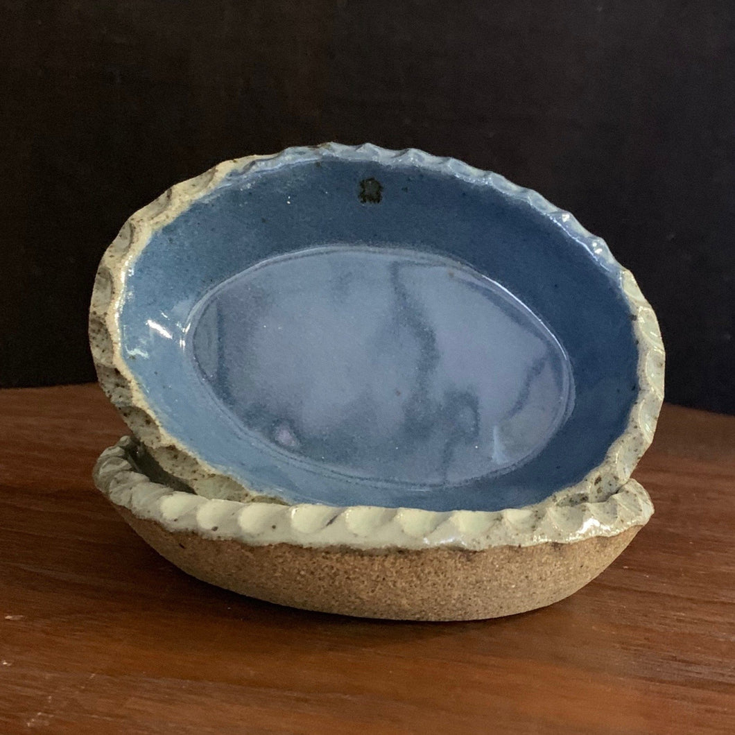 Oval Dish ~ Blue