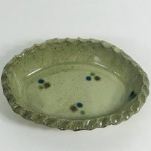 Spotted Oval Dish