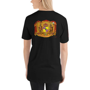 Hawaiian Coat of Arms - Women's Short-Sleeve Unisex T-Shirt