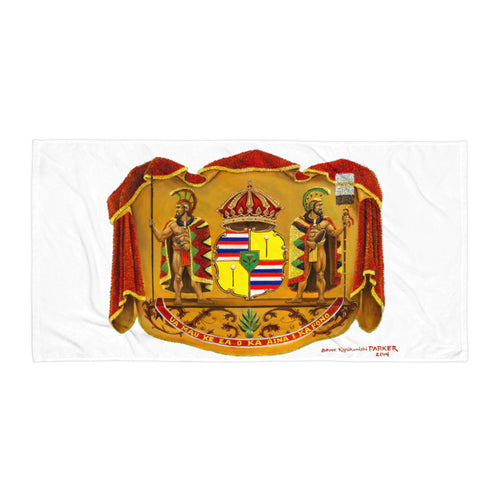 Hawaiian Coat of Arms - Towel