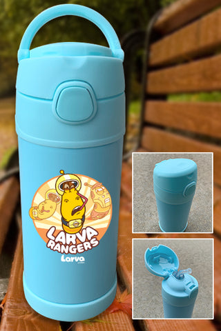 Larva Rangers Yellow Color Printed 12oz Bottle