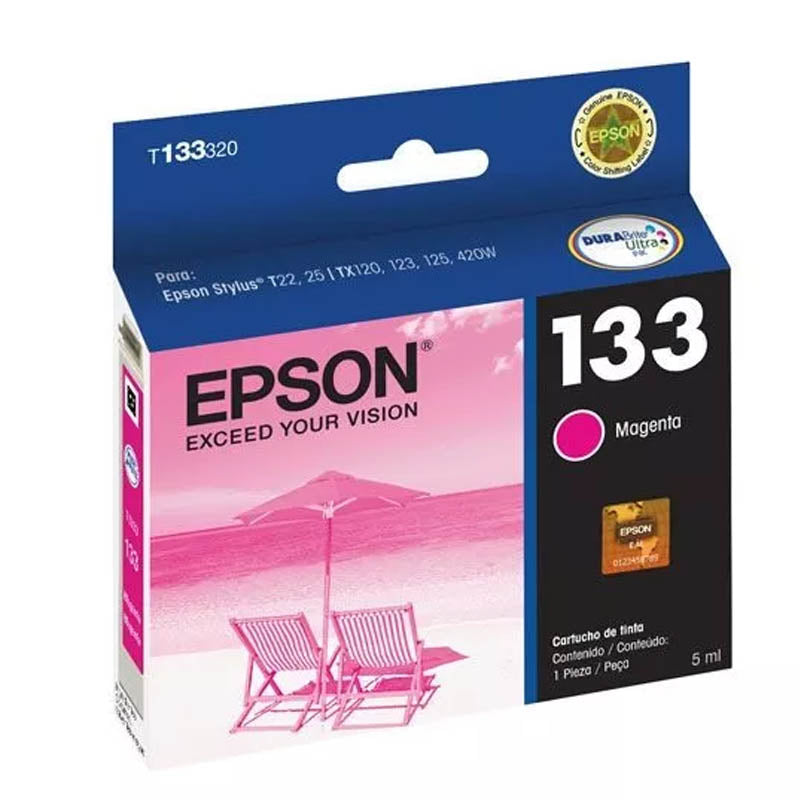 Cartucho de Tinta EPSON 133 (T133120) - Rivers Systems