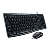 Kit Teclado y Mouse Logitech MK200 (920-002716) - Rivers Systems